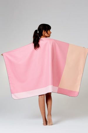 pink travel towel - anaskela
