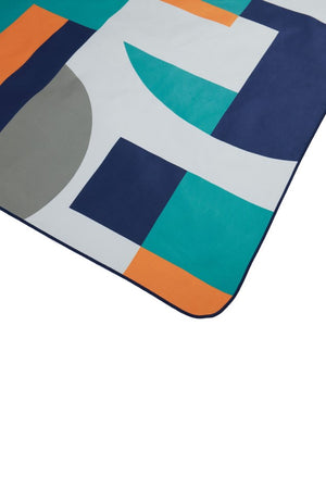 patterned ecofriendly beach towel - anaskela