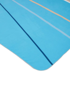 blue stripe beach towel - anaskela