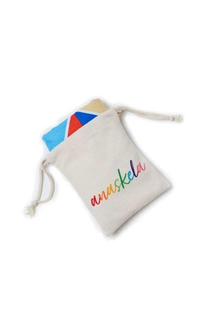 kids towel in pouch - anaskela