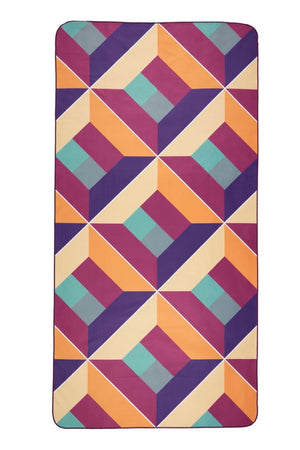 purple beach towel - anaskela