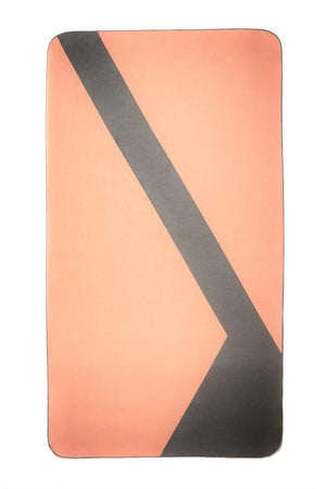 orange sustainable beach towel - anaskela