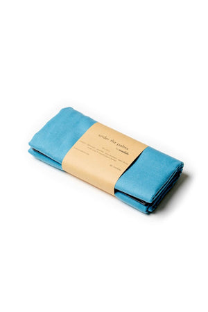 compact blue travel towel - anaskela