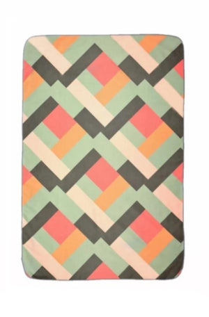 patterned kids travel towel - anaskela