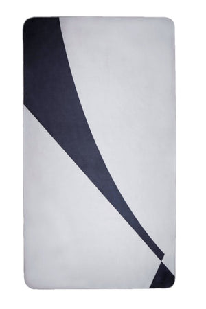 grey sustainable beach towel - anaskela