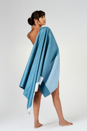 quickdry blue towel - anaskela