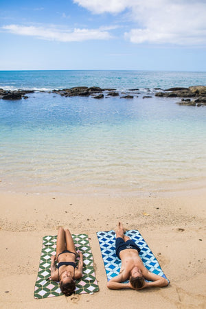 patterned beach towels - anaskela
