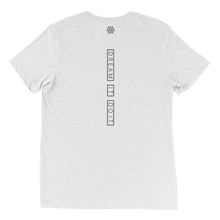 Load image into Gallery viewer, Dream It Do It Triblend T-shirt - White - L Y V E L Y - streetwear - activewear - lifestyle - inspirational - urban apparel - supply - casual