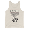 Established Tank Top - Oatmeal - L Y V E L Y - streetwear - activewear - lifestyle - inspirational - urban apparel - supply - casual
