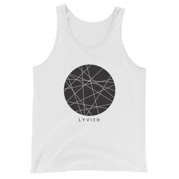 Moon By LYVIE Tank Top - White - L Y V E L Y - streetwear - activewear - lifestyle - inspirational - urban apparel - supply - casual