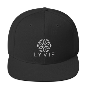 Logo Snapback Hat - Black - L Y V E L Y - streetwear - activewear - lifestyle - inspirational - urban apparel - supply - casual