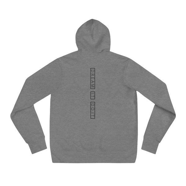 Dream It Do It Hoodie - Deep Heather - L Y V E L Y - streetwear - activewear - lifestyle - inspirational - urban apparel - supply - casual