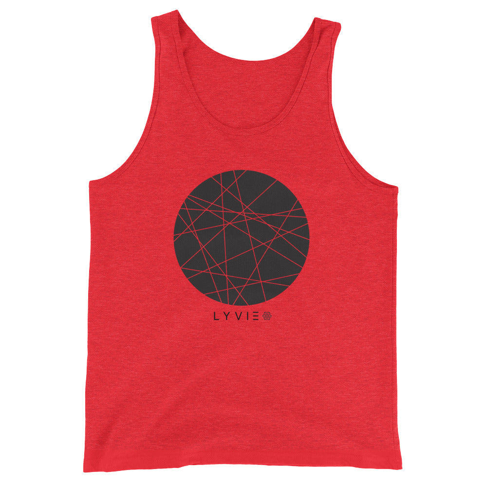 Moon By LYVIE Tank Top - Red - L Y V E L Y - streetwear - activewear - lifestyle - inspirational - urban apparel - supply - casual
