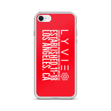 Load image into Gallery viewer, Execute On Your Dreams iPhone Case - Red / White - L Y V E L Y - streetwear - activewear - lifestyle - inspirational - urban apparel - supply - casual