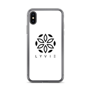 Logo iPhone Case - White - L Y V E L Y - streetwear - activewear - lifestyle - inspirational - urban apparel - supply - casual