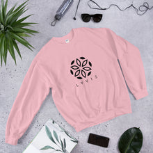Load image into Gallery viewer, Basic Crewneck Sweater - Light Pink / Black - L Y V E L Y - streetwear - activewear - lifestyle - inspirational - urban apparel - supply - casual