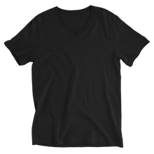 Load image into Gallery viewer, LYVELY Minimal Triangle V-Neck T-Shirt - Black - L Y V E L Y - streetwear - activewear - lifestyle - inspirational - urban apparel - supply - casual