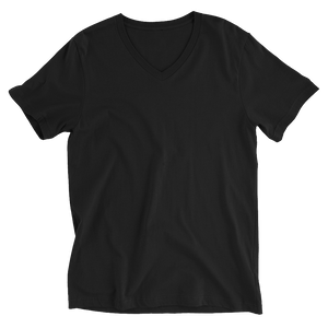 LYVELY Minimal Triangle V-Neck T-Shirt - Black - L Y V E L Y - streetwear - activewear - lifestyle - inspirational - urban apparel - supply - casual