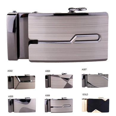 1PCS Belt Buckle Men Automatic Buckle Brand Designer Leather Waistband Buckles No Belt for Business Men Luxury Quality
