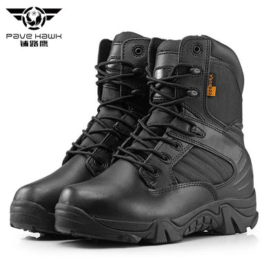 Brand New Men Military Boots Quality Special Force Tactical Desert Combat Ankle Botas Army Work Shoes Leather Women Snow Boots