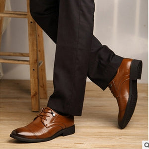Men Classic Lace-UP High quality Velvet Plus size 38 48 Genuine Leather Designer Office Career Business Male Kvoll shoes Camel
