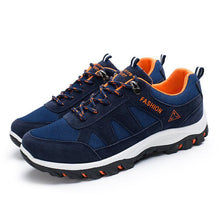 Tangnest	2017 New Men's Casual Shoes For Autumn Breathable Shoes Man Flock And Mesh Lace Up Flats For Men Size 39-44 XMR2198