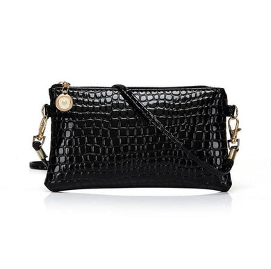 summer new woman Crocodile pattern messenger bag Femal fashion Crocodile pattern small square purse phone package