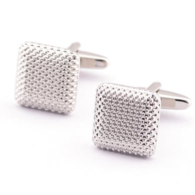 New Gentleman Men Wedding Party Gift Silver Color Cuff Link Cufflinks