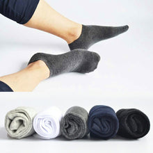 Men M Socks High Quality Cotton Boat Towel Bottom Short Tube Concise New  Fashion