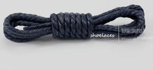 Luxy 4 pairs Waxed Cotton Round Shoelaces faux Leather Waterproof Shoe Laces Men Women Martin Boots Shoelace Shoestring String