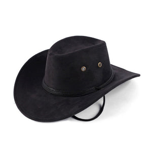 Hot Sale New Fashion Western Cowboy Hat Solid Tourist Cap Outdoor Wide Brim Caps Gorras Free Shipping Wholesale