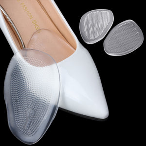 EYKOSI High Quality 2 Pairs Gel Forefoot Pads For High Heels Pain Relief Anti-slip Elastic Cushion  8A40057