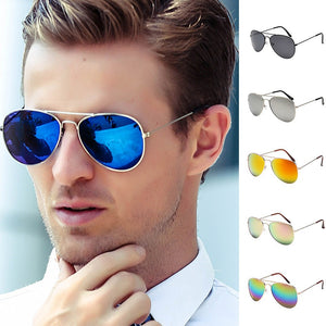 Women Men Vintage Retro Glasses Unisex Fashion Oversize Frame Sunglasses Eyewear