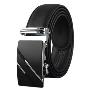 Men's Designer Leather Buckle Belts Designer Luxury Belts Business Office Style