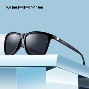 MERRYS Unisex Retro Aluminum Sunglasses Polarized Lens Vintage Sun Glasses For Women S8286