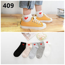 New Women's Shallow Mouth Invisible Boat Socks Silicone Non-Slip Sports Invisible Breathable Cotton Socks Art Meias