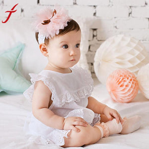 Adorable Elastic Flower Headband