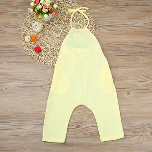 Toddler Kid Baby Girls Straps Rompers Jumpsuits Piece Pants Clothing