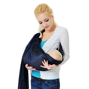Baby Wrap Sling Stretchy Newborn Infants Toddler Breathable Carrier