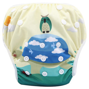 Unisex adjustable and reuse able swim diapers