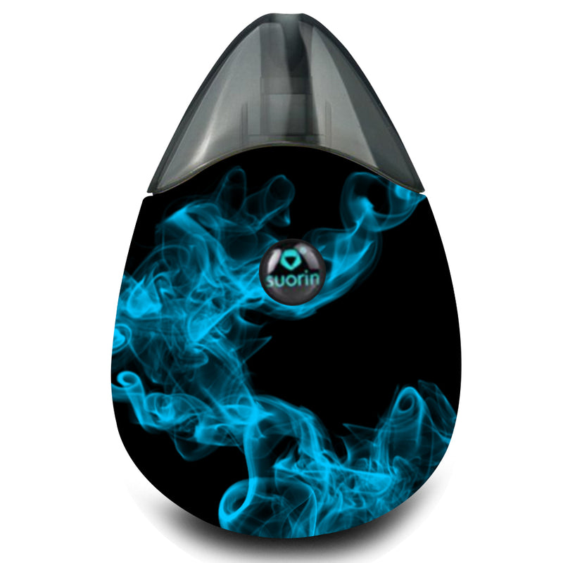 Blue Smoke Suorin Drop Wrap & Skin