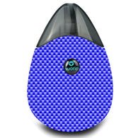 Blue Carbon Fiber Suorin Drop Wrap & Skin