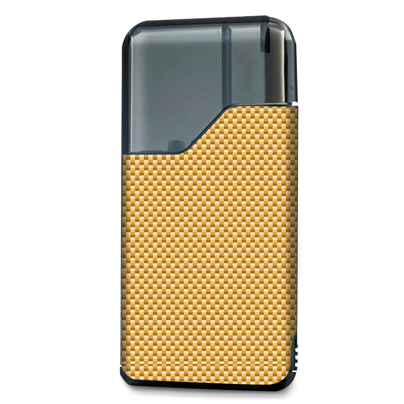 Gold Carbon Fiber Suorin Air Wrap