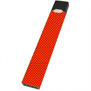 Orange Carbon Fiber Juul Wrap & Skin