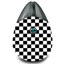 Checkered Print Suorin Drop Wrap & Skin
