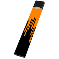 Orange Drip Juul Wrap & Skin