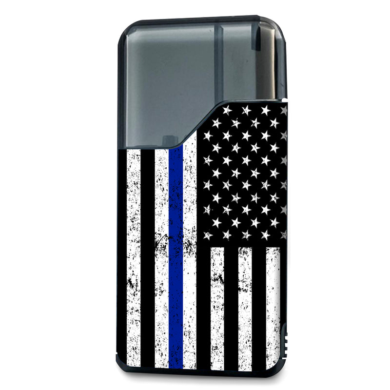 Police Inspired US Flag Suorin Air Wrap & Skin