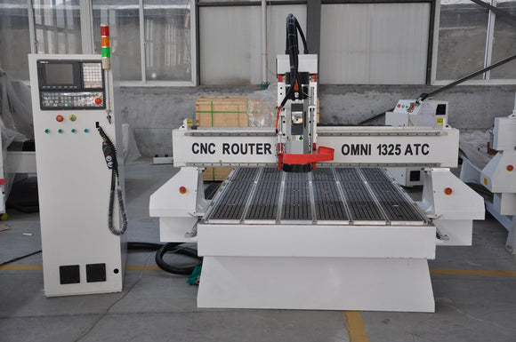 1325ATC Flatbed CNC Router with automatic tool change - BesCutter Canada
