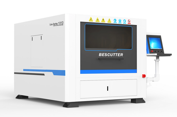 4'x4' Cube Series Enclosed Fiber Laser 500W-3000W - BesCutter Canada