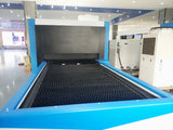 5'x10' Titan Max Series Enclosed Fiber Laser with Exchange Table 6000W-12000W - BesCutter Canada